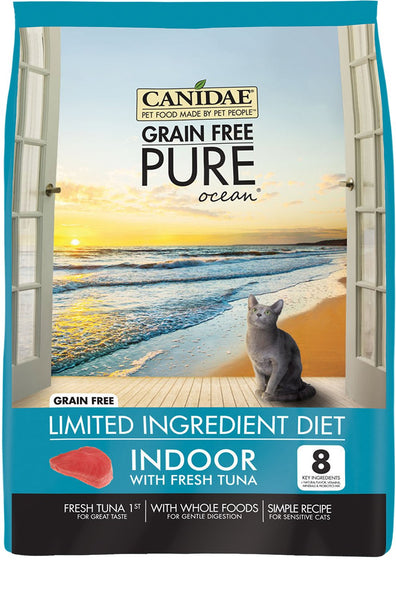 CANIDAE® Cat Grain Free PURE Ocean Indoor Formula with Fresh Tuna™
