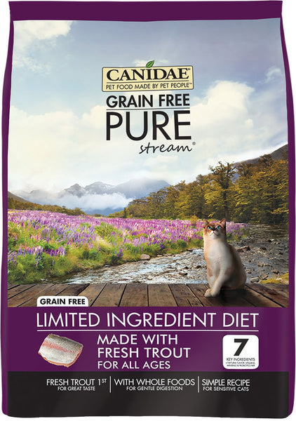 CANIDAE® Cat Grain Free PURE Stream with Fresh Trout™
