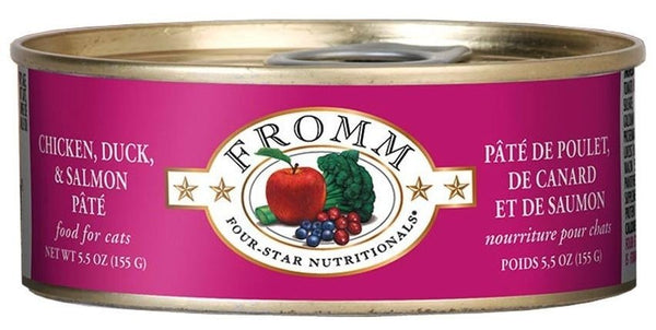 Fromm Cats Chicken, Duck & Salmon Pate