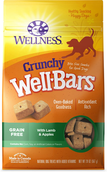 Wellness WellBars – Crunchy, Wheat-free Oven-baked Biscuits