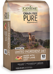 Canidae Grain Free PURE Elements with Lamb Dog