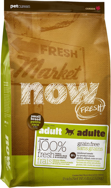Petcurean NOW FRESH Grain Free Small Breed Adult