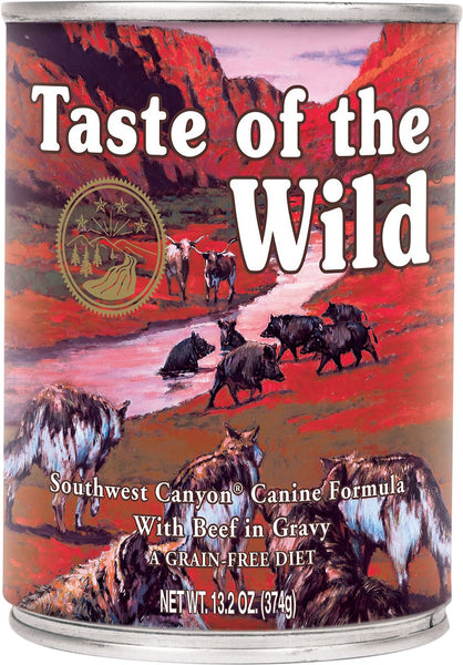 Taste of the Wild Canned Dog Food-Southwest Canyon Canine Stew – with Wild Boar