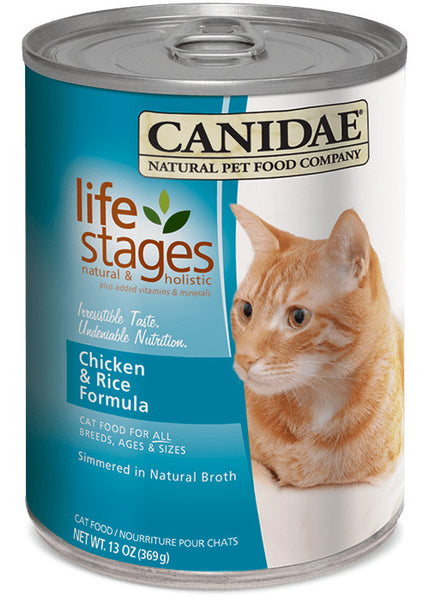 Canidae Cat Life Stages Chicken Meal & Rice Formula