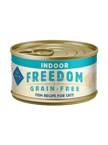 BLUE Freedom Indoor Fish Recipe - Canned Cats
