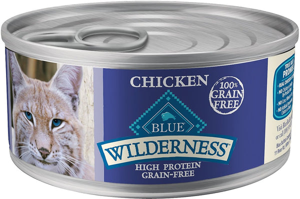 BLUE Wilderness Canned Recipes Cats 24/3oz