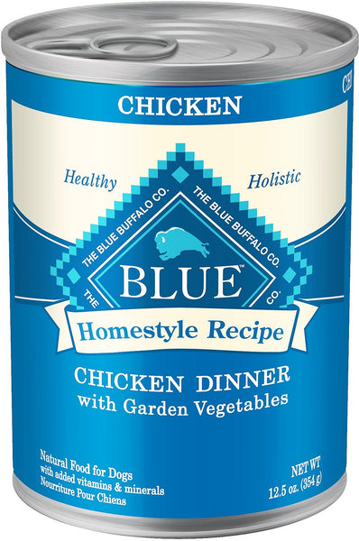BLUE Homestyle Recipes (Loaf/Pate style) Case of 12/12.5oz