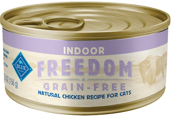 BLUE Freedom Indoor Chicken Recipe - Canned cats