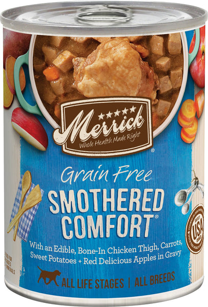 Merrick Classic Grain Free Smothered Comfort™ - Canned