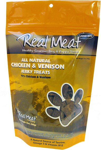 Chicken and Venison Dog Treats