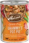 Merrick Classic Grain Free Grammy's Pot Pie™ - Canned