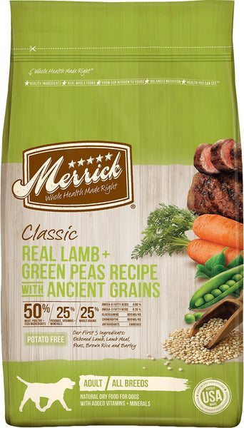 Merrick Classic Real Lamb with Brown Rice & Apple