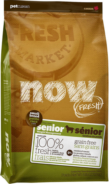 Petcurean NOW FRESH Grain Free Small Breed Senior