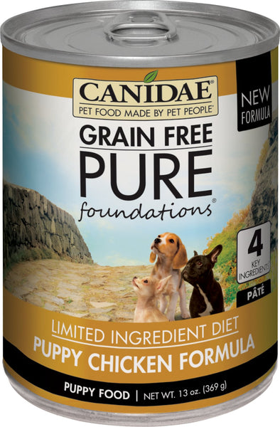 CANIDAE® Grain Free PURE Foundations Puppy Formula