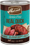 Merrick Grain Free 96% Real Duck - Canned