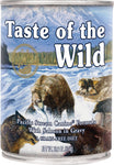 Taste of the Wild Canned Dog Food- Pacific Stream Canine Formula - with Smoked Salmon