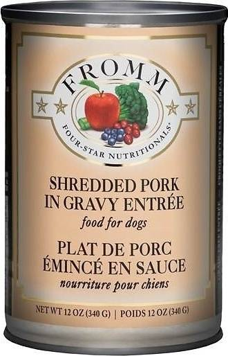 Fromm Grain Free Shredded Chicken Grain Free Shredded Pork