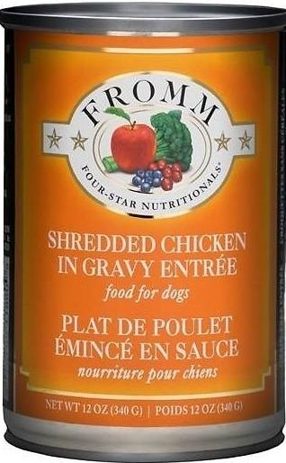 Fromm Grain Free Shredded Chicken