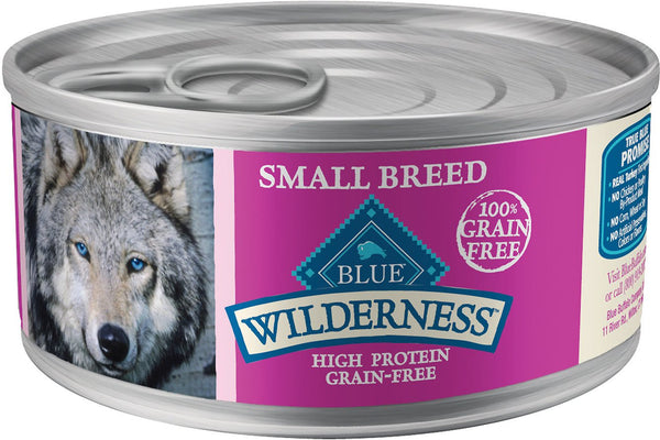 Blue Wilderness Turkey & Chicken Grill – Small Breed Canned Dog Food Case of 24/5.5oz