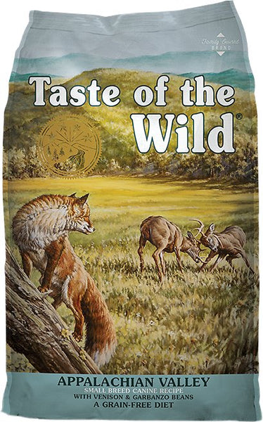 Taste of the Wild Dog Food- Appalachian Valley Small Breed Formula - with Venison & Garbanzo Beans