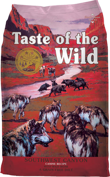 Taste of the Wild Dog Food- Southwest Canyon Canine Formula – with Wild Boar