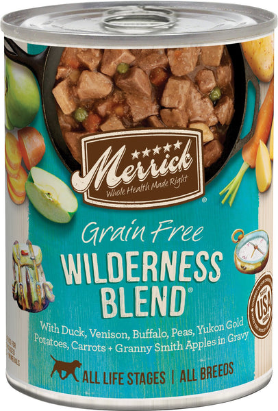 Merrick Classic Grain Free Wilderness Blend - Canned