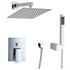 HELIX Ferentino Shower Set Rainfall Chrome - Helix Tapware