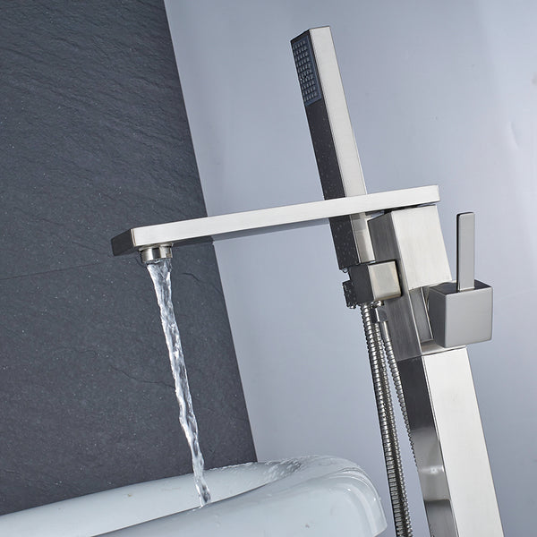 HELIX Monza Bath faucet floor-mounted with shower - Helix Tapware