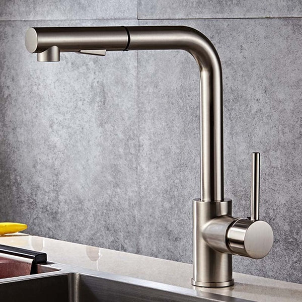 HELIX Bobbio Kitchen Faucet pull out swivel - Helix Tapware