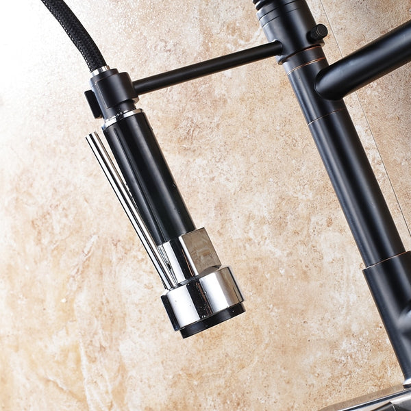 HELIX Amalfi Spring Pull out Kitchen Faucet - Helix Tapware