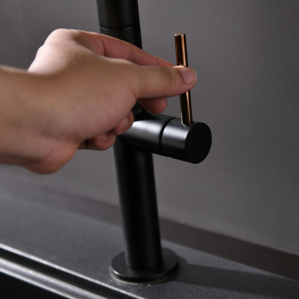HELIX Sassari Kitchen Faucet Pull out. Black - Helix Tapware