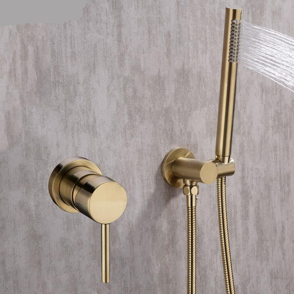 HELIX Anzio Shower Set and Mixer minimalist - Helix Tapware