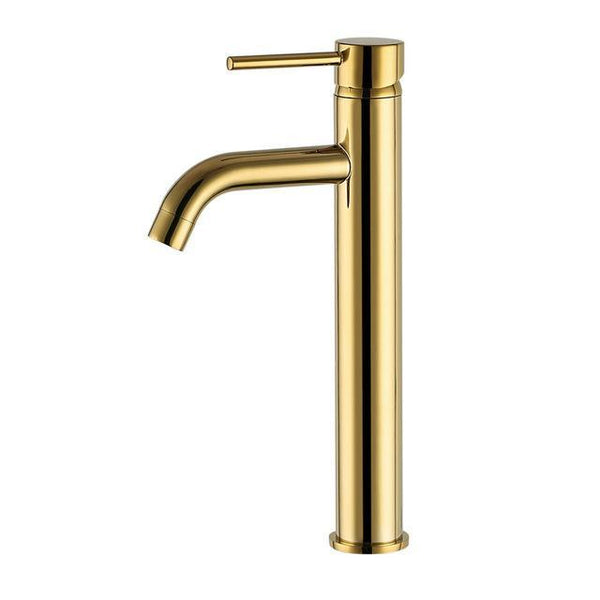 HELIX Imperia Tall Basin Mixer Black Gold - Helix Tapware