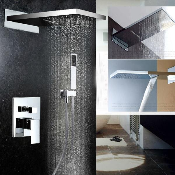 HELIX Brindisi Chrome shower set luxery - Helix Tapware