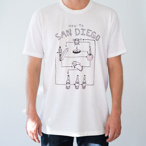 How To San Diego T-Shirt