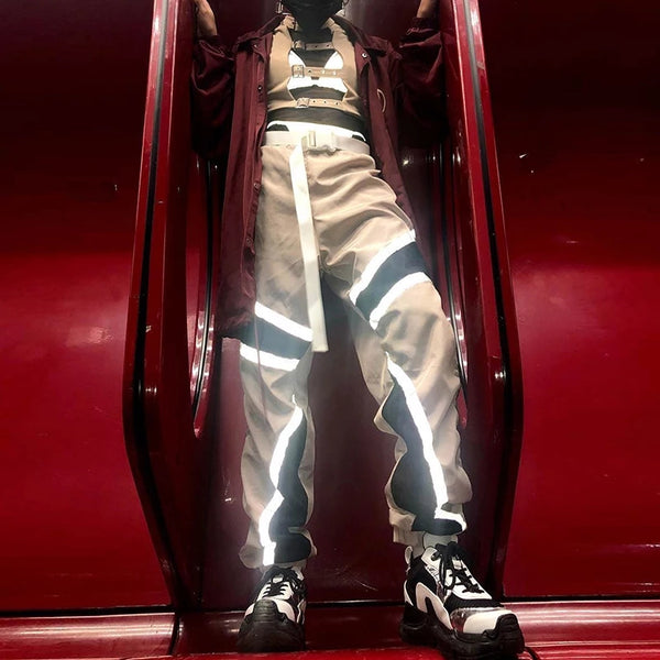 Dystopian Queen Reflective Trousers