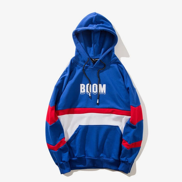 Kai's Royal Blue Tide Colorblock Hoodie