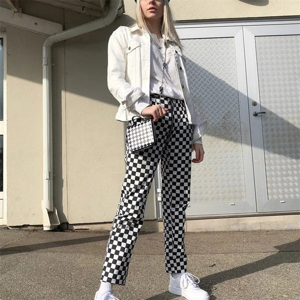 Checkered Past Trousers
