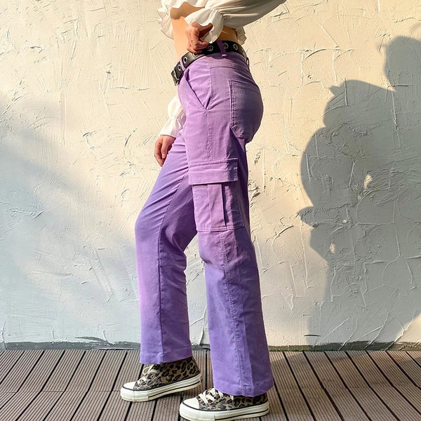 Lilac Spy Trousers