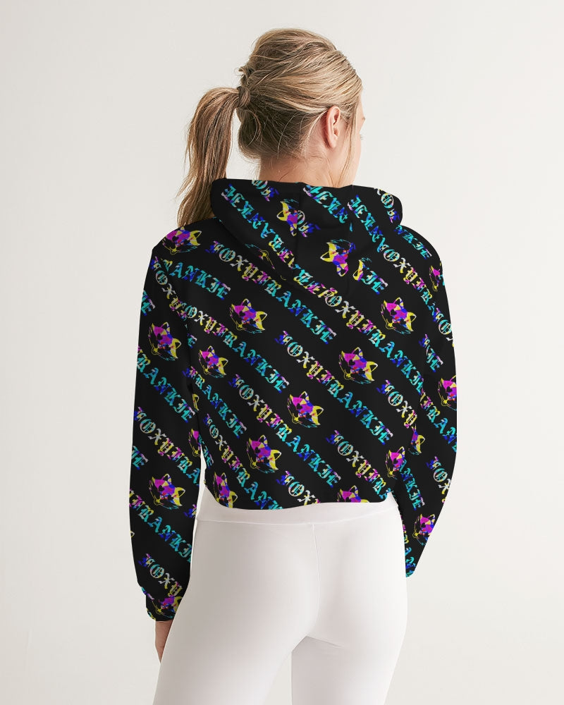 Frankie's Classic Chromatic Cropped Hoodie