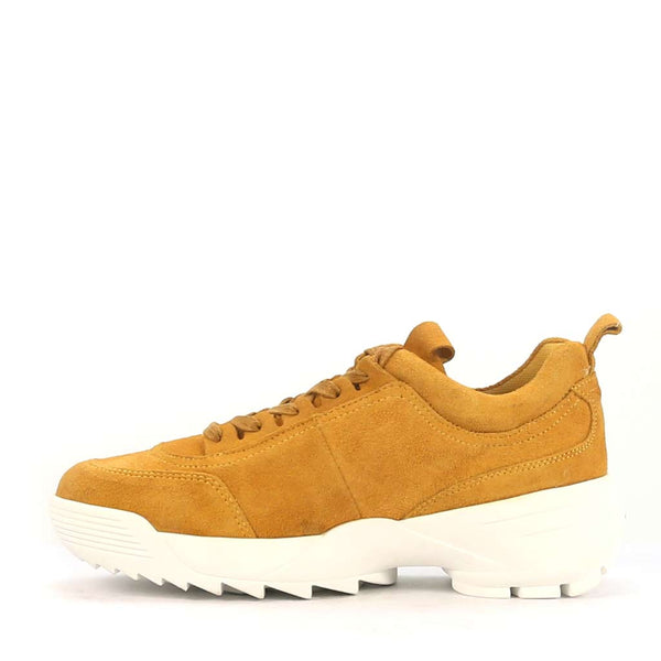 FILI GOLD SUEDE - Urban Collective Footwear