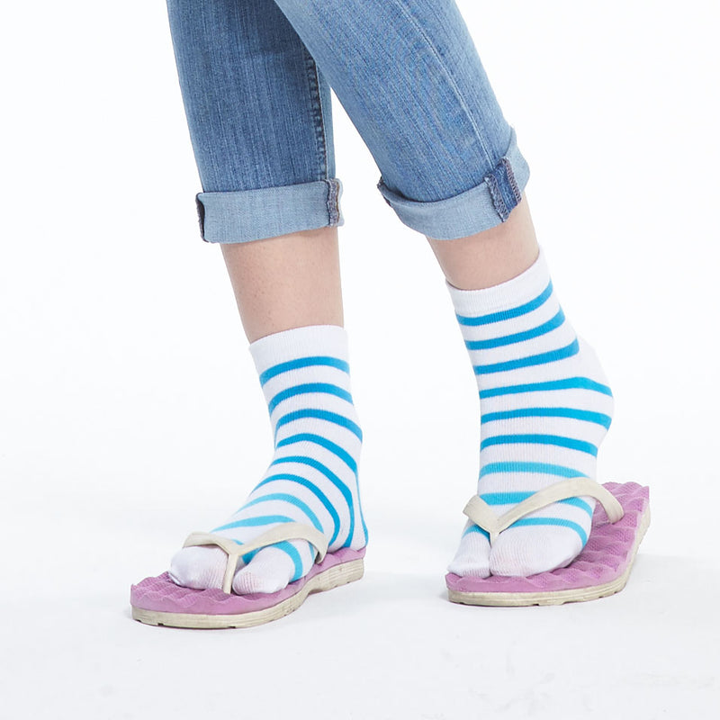Premium Cotton Toe Socks For Women Stylish Tabi Ankle Socks For Flip Flop