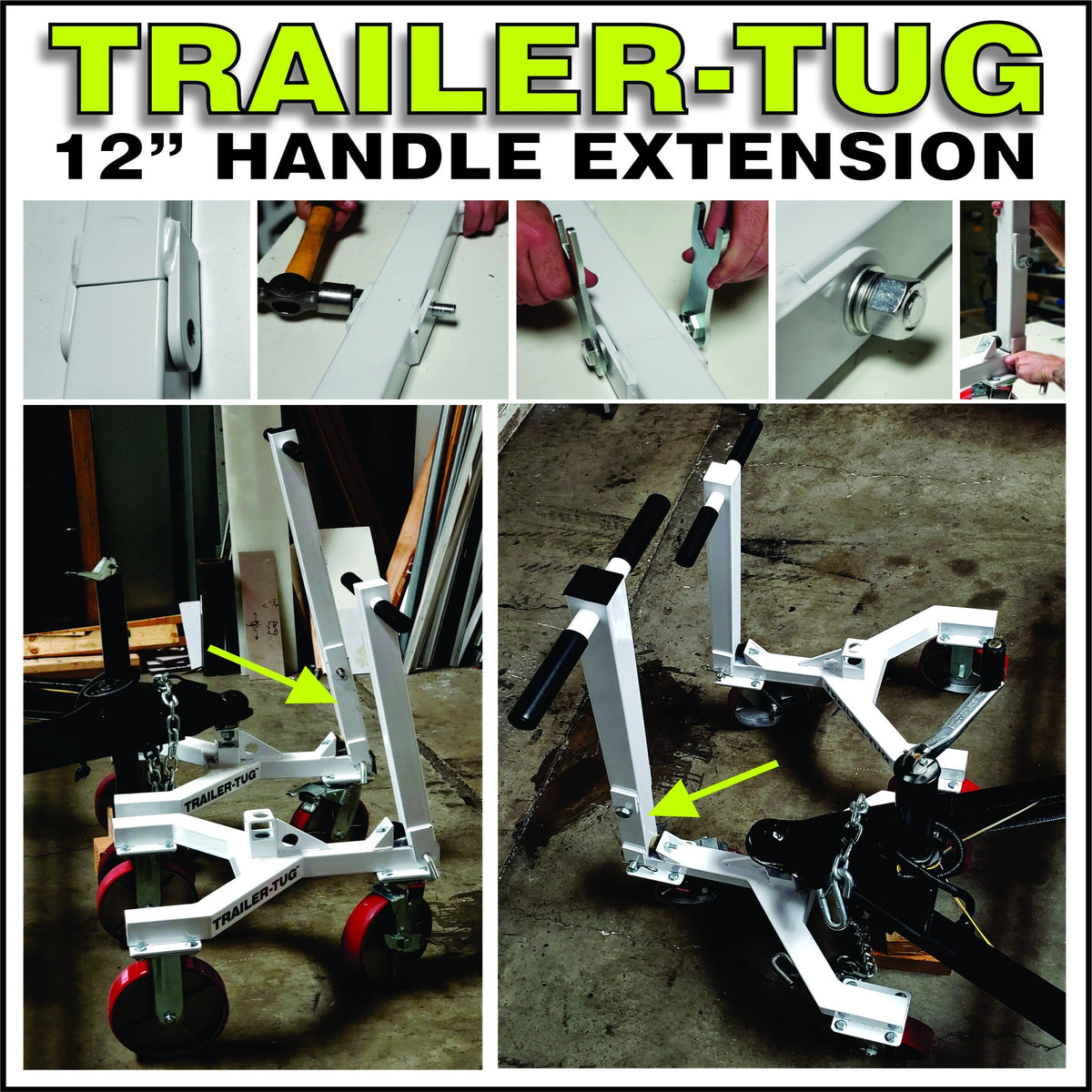"Trailer-Tug 12"" Handle Extension"