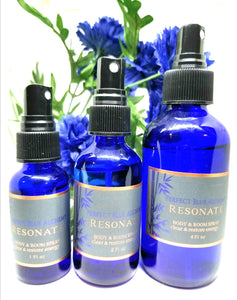 Resonate Perfume Body & Room Spray - clear & restore energy