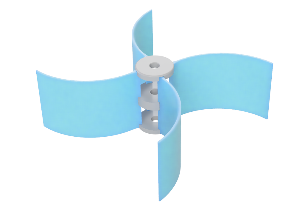 Savonius Wind Turbine-Design Update!