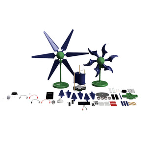 Alternative Energy Education. Renewable Energy Education Set! Wind, Solar, Hydro, & electronics!
