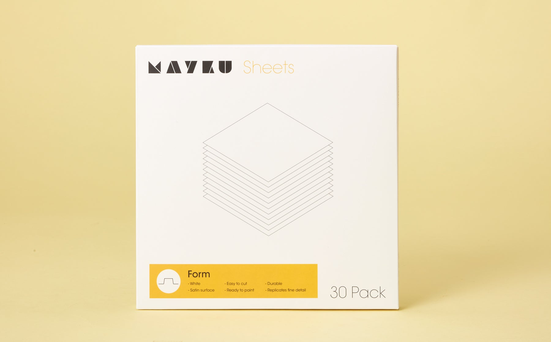 Mayku Form Sheet 30 Pack