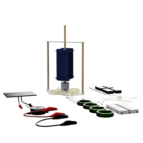 Savonius V4 Wind Turbine Educational Labs