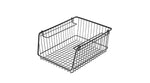 STACKS WIRE STORAGE OPEN BASKET A4 M BK