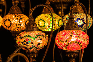 The Origins of The Turkish Mosaic Lamp